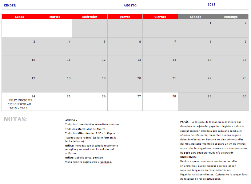 Calendario Para Ninos De Kinder.Index Of Img Calendarios